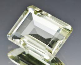 Natural Prasiolite 10.91  Cts Good Quality Gemstone