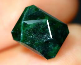 Maw Sit Sit 3.75Ct Precision Master Cut Natural Burmese Jadeite Jade AT47