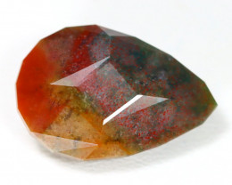 Bloodstone 13.76Ct Master Cut Natural Untreated Bloodstone ST125