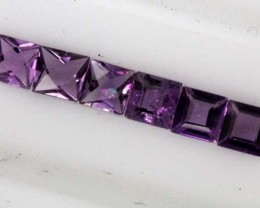 1.85 CTS AMETHYST FACETED STONE   CG-837