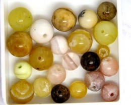 ASSORTED NATURAL BEADS (PARCEL) 34.5 CTS NP-1516