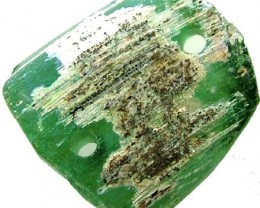ANCIENT GLASS BEAD - AFGANISTAN-FACE DRILLED 11.85CTS MX4724