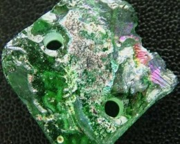 ANCIENT GLASS BEAD - AFGANISTAN- FACE DRILLED 7.25CTS MX4730