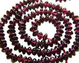 BRIGHT GARNET BEAD FROM MADAGSCAR  82.30 CTS [GT 1547]