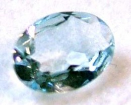 AQUAMARINE NATURAL FACETED 1.60 CTS  CG-1046