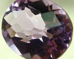vVS AMETHYST SOFT BRIGHT LILAC  -OVAL   3.25 CTS [S 4862 ]