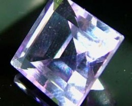 vVS AMETHYST SOFT BRIGHT LILAC  -SQUARE CUT 4.70 CTS S  4870