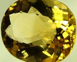 VVS  CITRINE DEEP RICH  COLOUR   3.05 CTS [S 4883]