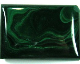 TOP PATTERN  MALACHITE STONE 124 CTS 0354-1