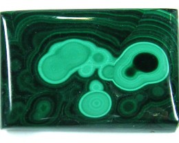 TOP PATTERN  MALACHITE STONE LARGE  142 CTS 0354-2