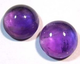 AMETHYST CABS (2PC) 6.50 CTS CG-1014