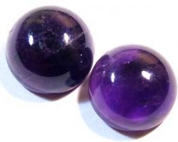 AMETHYST CABS (2PC) 10 CTS CG-1053