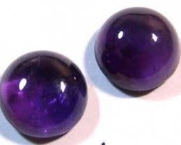 AMETHYST CABS (2PC) 9..35 CTS CG-1012
