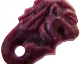 RUBY LION CARVING 6.30 CTS [MX 4854]