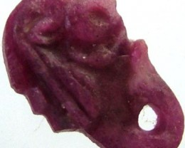 RUBY LION CARVING 7.15 CTS [MX 4855]