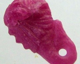 RUBY LION CARVING 3.10 CTS [MX 4869]