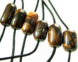 CHOCOLATE IRONSTONE BEAD PARCEL 264.35 CTS [GT 1754]