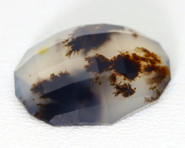 Opal 5.18Ct Natural Scenic Dendrite Opal Faceted Madagascar ET115