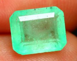 Muzo 1.43Ct Colombian Muzo Emerald Neon Mint Green Beryl SA497
