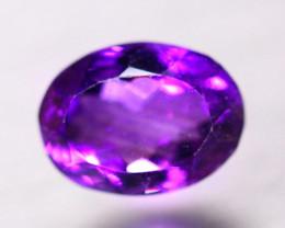 6.54Ct Natural Purple Amethyst Oval Cut Lot B4359