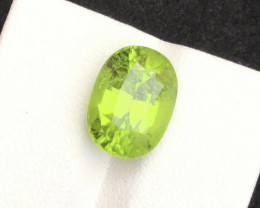 Top Grade 6.40 ct lovely Peridot Ring Size~MA