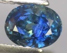 1.10 CTS EXCEPTIONAL NATURAL BLUE SAPPHIRE OVAL MADAGASCAR!!