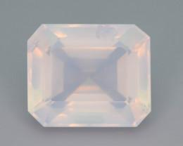 Rare Peach Pink 28.95 ct Feldspar Moonstone~Fancy Cut