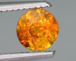 Rare AAA Fire 0.95 ct Sphene Ring Size