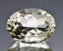 Natural Prasiolite 6.10  Cts Good Quality Gemstone
