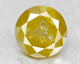 Diamond 0.29 Cts Sparkling Fancy Yellow Natural