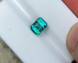 2.10 Ct Natural Blue Transparent Tourmaline Ring Size Gemstone