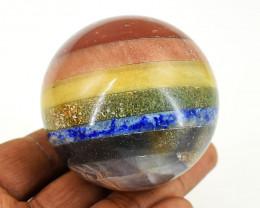 Genuine 1099.00 Cts Seven Chakra Healing Ball