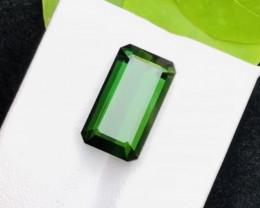 Emerald Cut 10.50 ct Precious Tourmaline Ring Size
