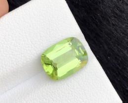 3.55 Ct Untreated Green Peridot