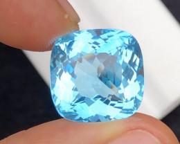 Splendid 19.80 Carat Natural Stunning Swiss Blue Topaz