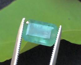 2.00 Ct Parrot Green Emerald Emerald Emerald Zambain
