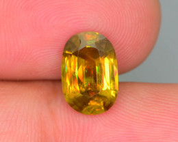 Tanzanian Mined 3.75 ct Imperial Sphene Class Color Spectrum KS