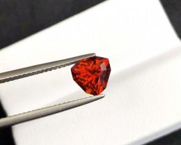 ~NR~1.865(ct)Spessartite Precision Cut Top Color Gemstone