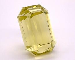 Outclass 18.83 Carats Natural Lemon Quartz Gemstone