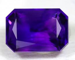 Amethyst 2.03Ct VVS Octagon Cut Natural Uruguay Violet Amethyst SA711