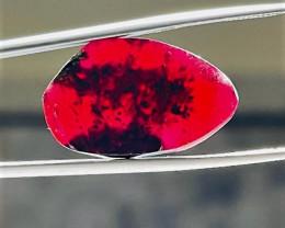 Stunning Natural color Gemmy Quality Garnet Slice 26Cts-GN26