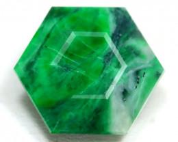 Maw Sit Sit 10.88Ct Master Cut Natural Burmese Jadeite Jade SA758