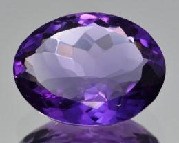 Natural Amethyst 6.29  Cts, Good Quality Gemstone