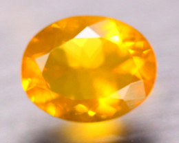 1.70Ct Natural Mexico Fire Opal Oval Cut Lot B4441