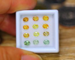 2.76ct Natural Fancy Color Sapphire Oval Cut Lot B4448