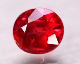 2.10Ct Natural Red Garnet Oval Cut Lot B4452