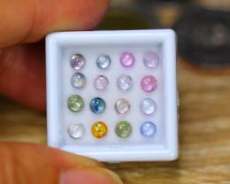 4.69ct Natural Fancy Color Sapphire Cabochon Cut Lot B4455