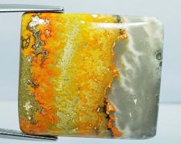40.98 ct Natural Bumble Bee Jasper Rectangular Cabochon  Gemstone