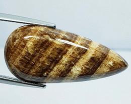 13.58 ct Natural Aragonite Pear Cabochon  Gemstone