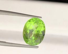 3.29 carats, Natural Peridot